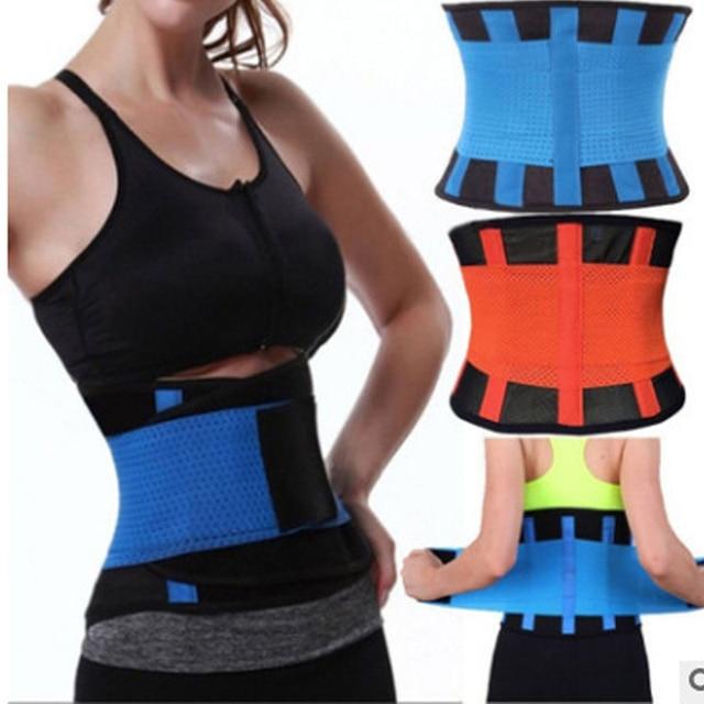 Woman Man Sport Waist Support Belt,Adjustable Lumbar Back Sweat Belt,Fitness Slimming Modeling Body Shaper Waist Trainer Corset