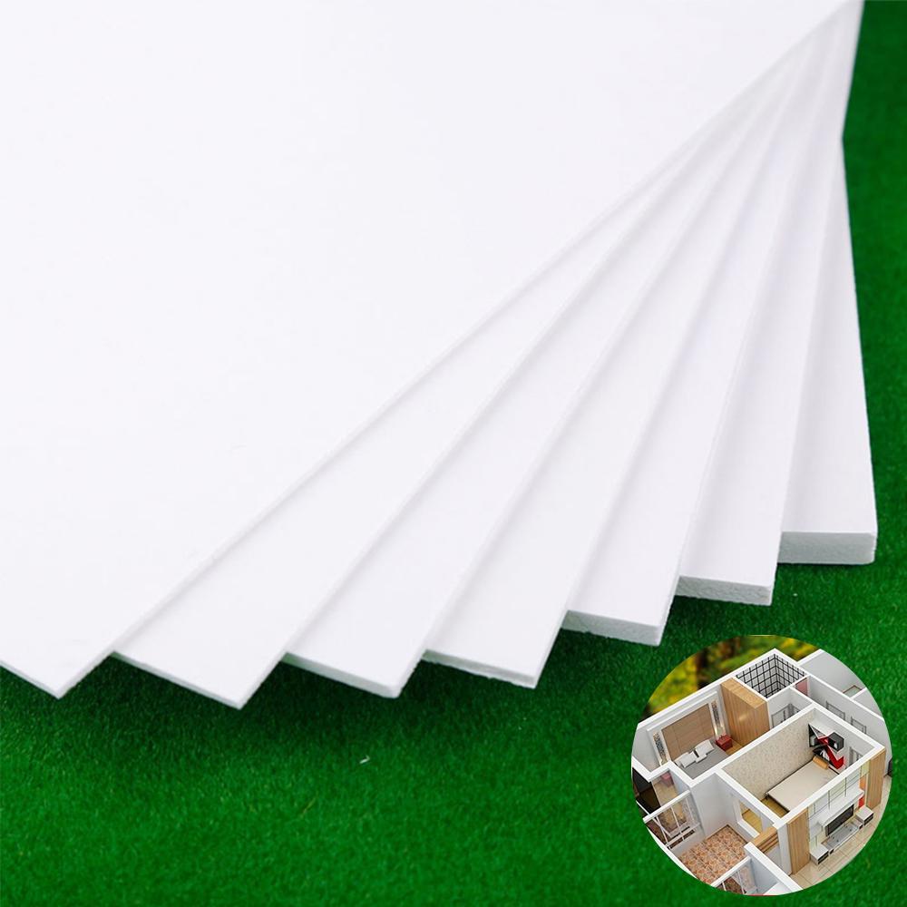 5Pcs PVC Expansion Board Mini Landscape Base Set Building Sand Table Model Material 300x400x2mm