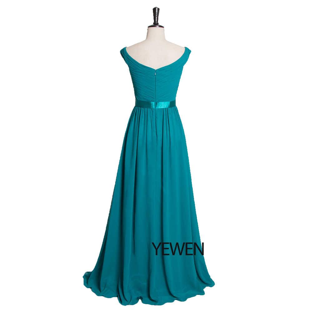 Robe De Soiree 2019 элегантное вечернее платье трапециевидной формы с v-образным вырезом и рюшами длинное синее торжественное свадебное платье LT2727