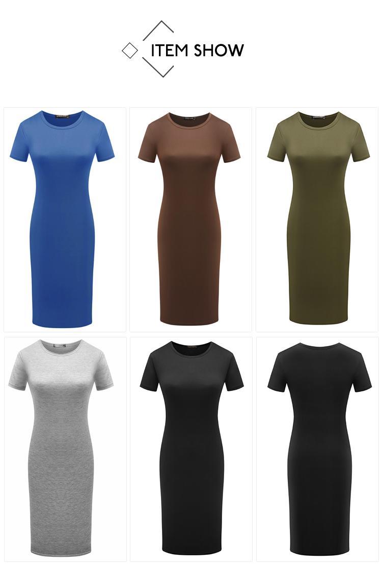 H08938e3e05fa4a1bb47ce4267752b179W 2019 Autumn Hot Slim Bodycon Dress Women Solid Color Chic Party Dresses Casual Sleep Wear Inside Wear Vestidos Pencil Dress