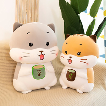 цена New Cute Plush Doll Toys Pillow Kids Girl's Birthday Gift Super Soft Cartoon Animal Cat Plush Toy For Children Girls Boys онлайн в 2017 году