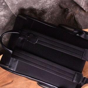 Image 3 - AETOONew mode sacs à dos en cuir véritable de haute qualité en cuir véritable homme coréen étudiant sac à dos garçon sacoche pour ordinateur portable professionnel