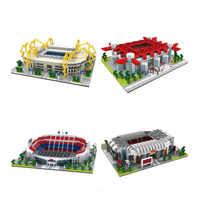 Legoinglys blocs de construction assembler l'architecture San Siro terrain de Football Signal Iduna parc stade briques éducatives cadeaux