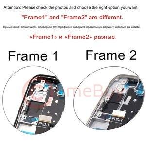 Image 2 - フロントフレーム Huawei 社 P30 Lite ミドルベゼルミッドハウジング P30 Lite MAR LX1m LX1a LX3a 前面プレート huawei 社ノヴァ 4e フレーム