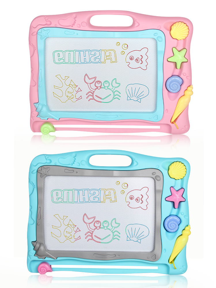 Drawing Board Magnetic Drawing Board Baby Infant Small Toys 1-3 Years Old 2 CHILDREN'S Color Oversized Children Doodle Board