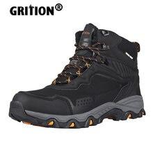 Grition мужские походные ботинки повседневные Водонепроницаемые