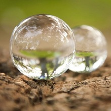 Artificial Glass Lens Magic Ball Crystal Craft Fengshui Ball Home Ornaments Travel Photography Decorative Balls Gift photograph crystal light crystal halo optical glass lens 1 4 screw for tripod holding vlog magic ball light accessory
