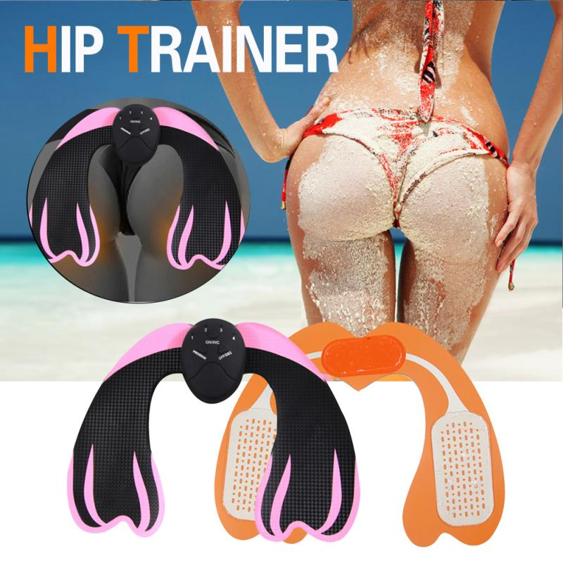 Muscle Trainer 6 Modes Smart Easy Hip Trainer Buttocks Butt Lifting Lift Up Body Building Workout Fitness Equipment for Home Gym image