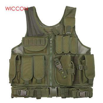 Gilet de vêtements militaires tactique Militaire Uniforme Militaire armée chemise de Combat Colete gilet multifonctionnel