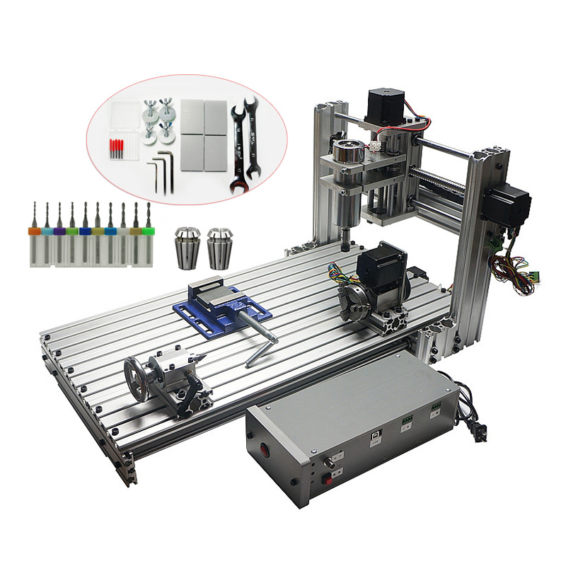 CNC 3060 In Wood Routers Mini DIY3060 Milling Drilling Machine USB Port Mach3 Wood Aluminum Carving Machine CNC Router
