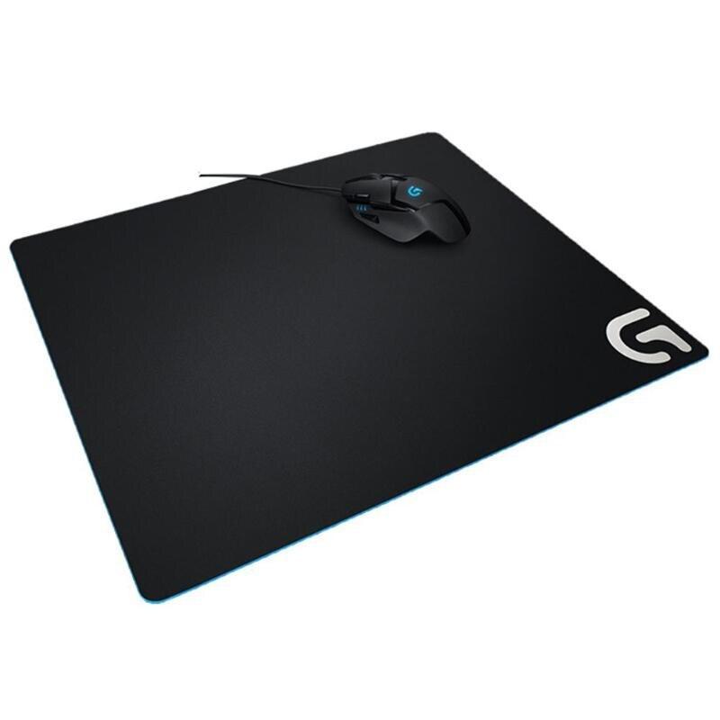 Logitech G640 46X40 cm tapis de souris de jeu de grande taille Gamer doux doux Fabrice tapis de souris réglage à faible DPI pour ordinateur portable PC