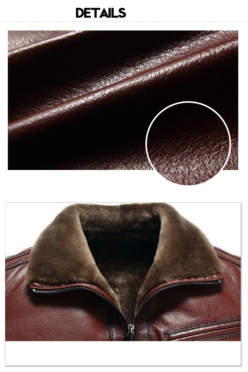 H0894e0b4436542fd9bf8bf3522e940e9Z Men Genuine Leather jackets Brand 2019 New Men Wool Liner Winter Warm Coats Luxury Male Cow leather Outerwear
