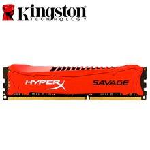 キングストン HyperX サベージメモリ Ram DDR3 4 グラム 8 グラム 1600MHz 1866MHz 2133MHz 2400MHz 4 ギガバイト 8 ギガバイト 1.5v pc3 12800 240 ピン DIMM デスクトップ