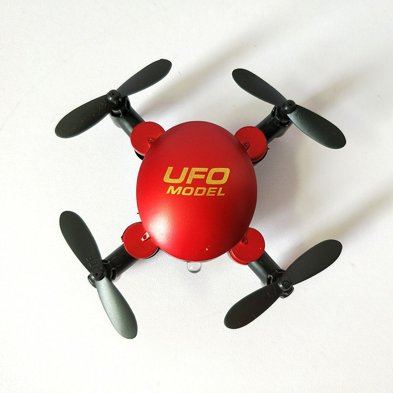 Mini Folding Quadcopter Pocket Unmanned Aerial Vehicle 2.4G Electric Small Remote Control Toy Plane Cx001