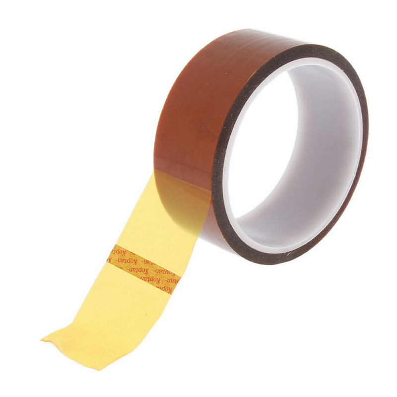 Brown High Temperature Resistant Kapton Tape Polyimide For Electric Task 3/5/6/8/10/12/15/20MM X 33M