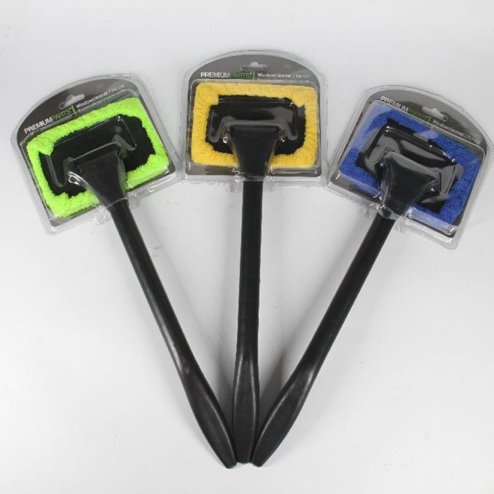 New Car Mop Cleaning Windows Windshield Fog Cleaning Tool Brush Washing Rag Wipe Duster Home Office Auto Windows Glass Cloth Hot