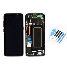 LCD Display Touch Screen Digitizer & Rahmen Ersatz Teile Professionelle Universal Montage für Samsung S8 Handys