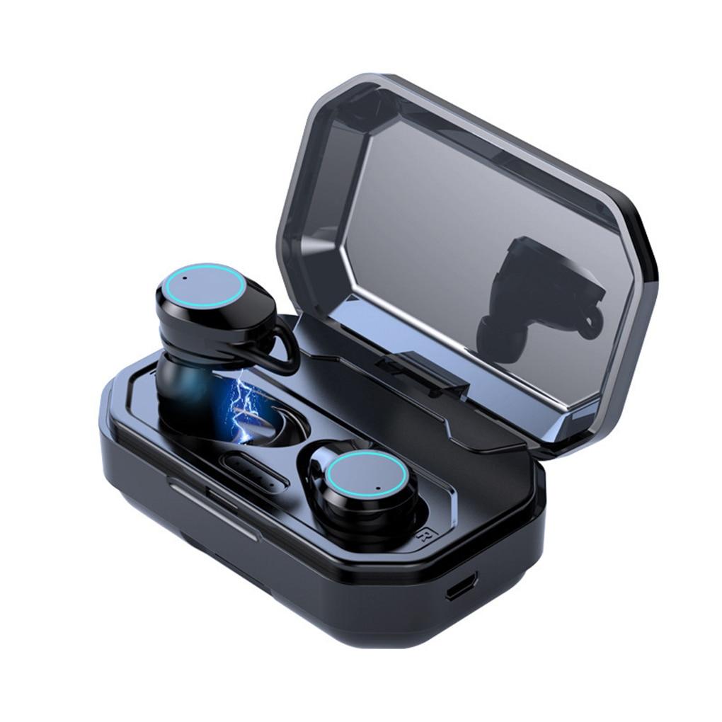 Bluetooth 5.0 Headset Wireless Earphones TWS In-ear Earbuds Waterproof Stereo Sports Earphones