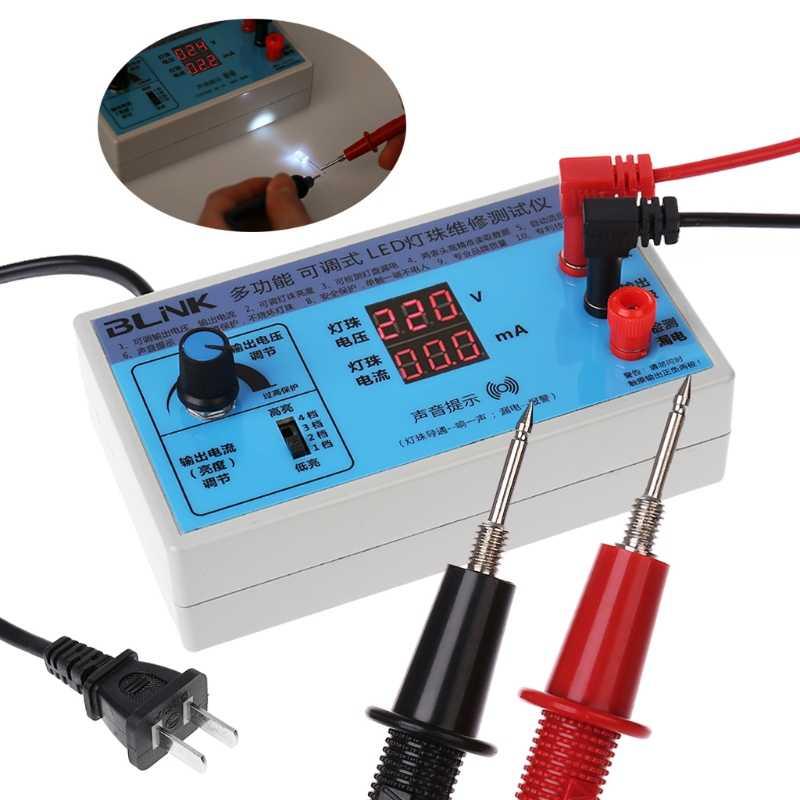 AC 220V светодиодный экран дисплея с подсветкой ЖК-тестер шарик лампа-панель Прямая поставка поддержка