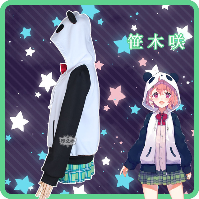 NIJISANJI Gamers Sasaki Virtual Idol Uniforms Cosplay Costume Free Shipping F 2
