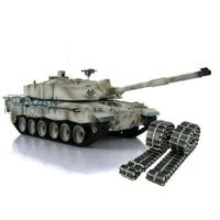 Henglong 1/16 Snow 6.0 Challenger II RTR RC Tank 3908 Metal Tracks W/ Rubbers