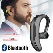 Wireless Bluetooth Earphones Stereo Headset 170mAh Single Ha