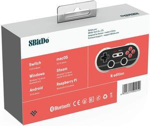 Image 5 - 8 Bitdo N30 Pro2 Bluetooth Draadloze Gamed Controller Voor Schakelaar Windows Macos Stoom Android Raspberry Pi