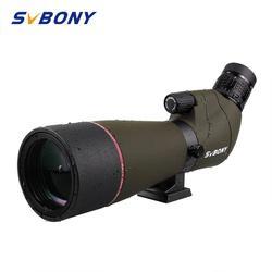 SVBONY SV13 luneta 20 60x65 teleskop z powiększeniem BK7 srebrny + MC pryzmat i w pełni powlekany obiektyw wodoodporny F9314AA do polowania  strzelania  łucznictwa  obserwowania ptaków|Lunety|Sport i rozrywka -