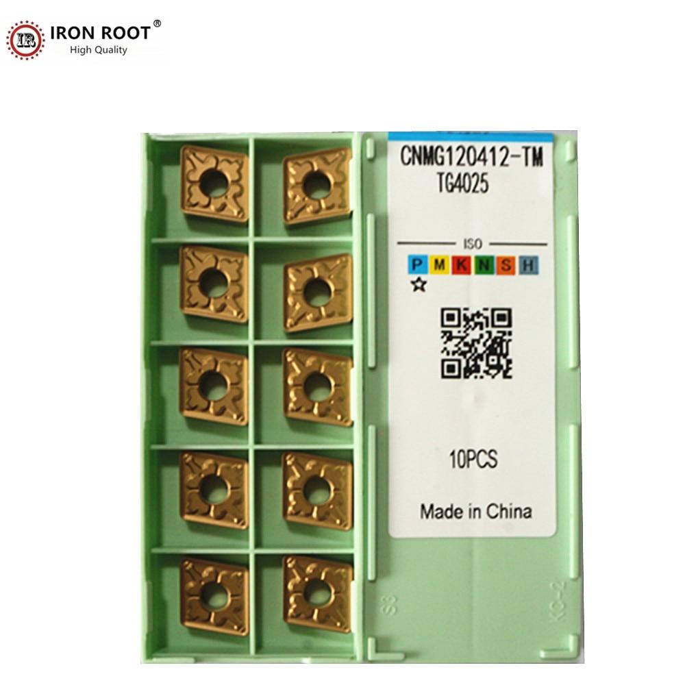 10P CNMG120404 / CNMG120408 HM  TM TG4025 시리즈 금속 선반 절삭 공구 CNC 터닝 카바이드 인서트|터닝 툴|   - AliExpress