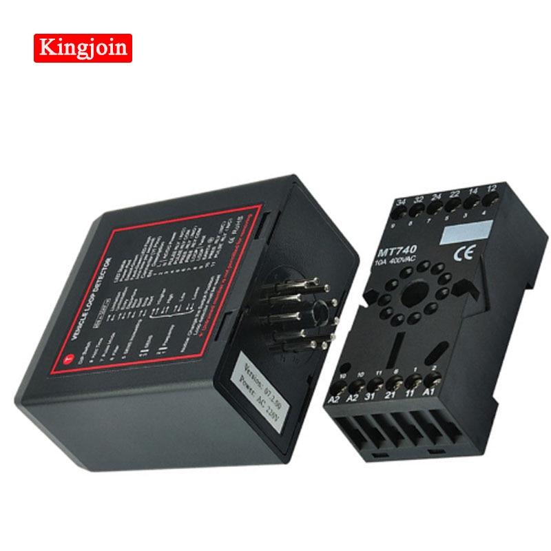 Car Park Barrier Loop Detectors PD132 Inductive Vehicle Loop Detector /METALLIC MASS DETECTORS/ Loop Sensor For Vehicle Access