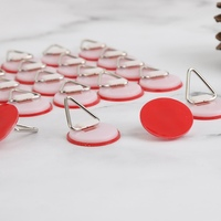 Invisible Adhesive Platte Hanger Set Tragbare Selbstklebende Wand Platte Halterung Vertikale Platten Klammern Für Wand Flache Haken-in Haken & Leisten aus Heim und Garten bei