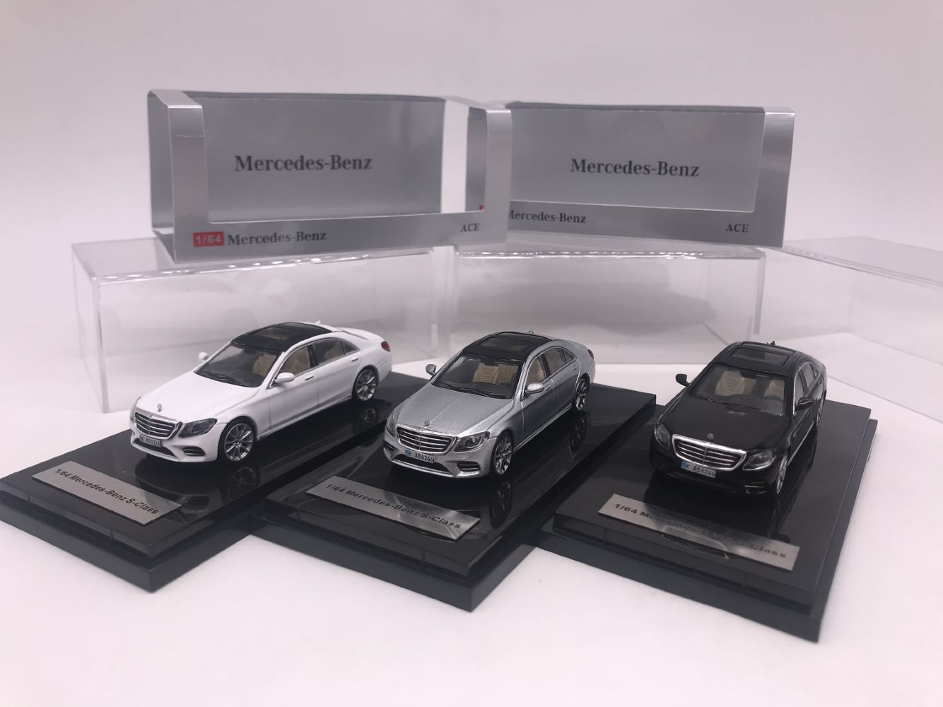 Alloy-Toy Diecast-Model Car-Birthday-Gift S450L Children S-Class 1:64 Factory For Original