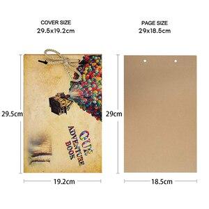 Image 5 - DIY Fotoalbum Sammelalbum Buch Für Baby Hochzeit Familie Reisen Fotoalbum Geburtstag Geschenk 80 Side Memory Album