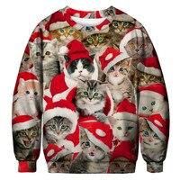 Унисекс, для мужчин и женщин, 2019, Уродливый Рождественский свитер для праздников, Санта-эльф, Рождественский Забавный свитер с искусственны...