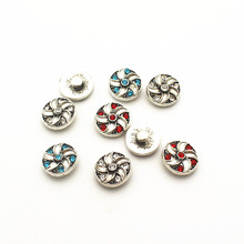 High quality 20pcs/lot flower metal crystal alloy button 12mm Snap Buttons Fit DIY Snap Bracelet Snap Button Charms Jewelry hot selling 20pcs lot flower metal crystal alloy button 12mm snap buttons fit diy snap bracelet snap button charms jewelry