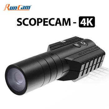 RunCam Scope Cam 4K Airsoft Camera 25mm Lens 1080P120fps Ultra HD Recording Built-in WiFi 850mAh ScopeCam