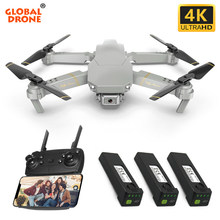 Global Drone Exa GD89 4K Drone Selfie Dron Rc Drone X Pro Fpv Quadcopter Drones Met Camera Hd Quadrocopter vs SG106 E58 E520(China)