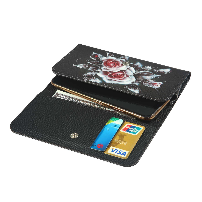 Dla HomTom S16 S7 S8 S9 Plus HTC Android jeden X2 pragnienie 550 555 jeden X10 U grać portfel styl z pokrywa gniazda karty torba przypadku telefonu