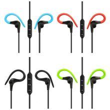 купить VODOOL BT-1 Bluetooth 4.1 Wireless Stereo Headphone Ear Hook Sport Earbuds Bluetooth Earphone Headset With Mic For iPhone Xiaomi дешево