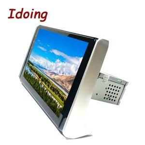 "Image 4 - Idoing 10.2""4G+64G 2.5D Octa Core DSP Car Radio Android Multimedia Player For Toyota RAV 4 2019 GPS Navigation Autoradio AHD 4G"