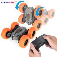 2.4g 4ch rc dublê deriva deformação buggy escalada rc carro rock crawler rolo 360 graus rotação dublê carros crianças brinquedos
