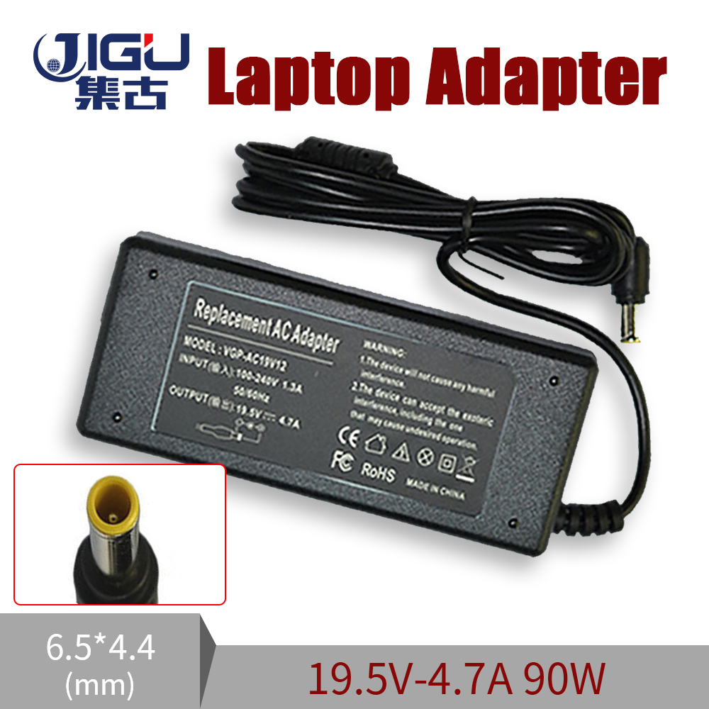Replacement 19.5V 4.7A 6.5*4.4MM 90W For Sony Laptop AC Charger Power Adapter Input 100-240V