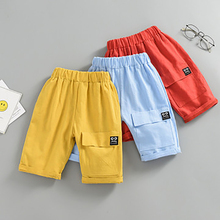 Summer Nnew Children Shorts Stripe Middle Pants For Boys Kids Outer Wear Beach Short Sports Leisure Pant