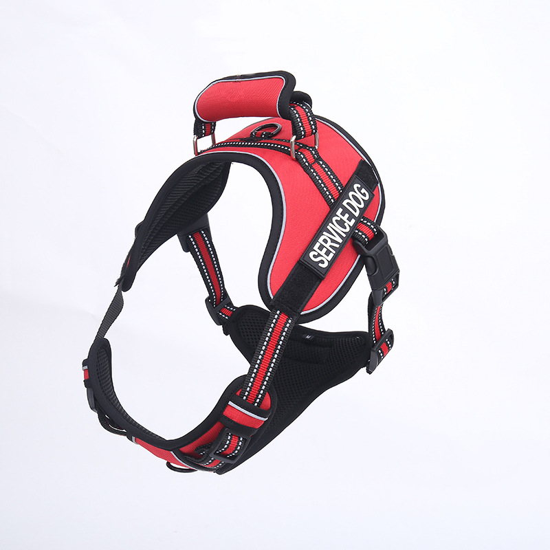 New Style Pet Supplies Chest Suspender Strap Proof Punch Vest Style Dog Outdoor Traction Suspender Strap