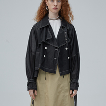 IRINACH185 2020SS NEW COLLECTION oversized short trench coat