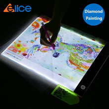 Светодиодный светильник elice a4 алмазная живопись светодиодный