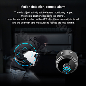 Image 2 - Mini wifi camera IP hd secret cam micro small 1080p wireless videcam home outdoor XIXI SPY