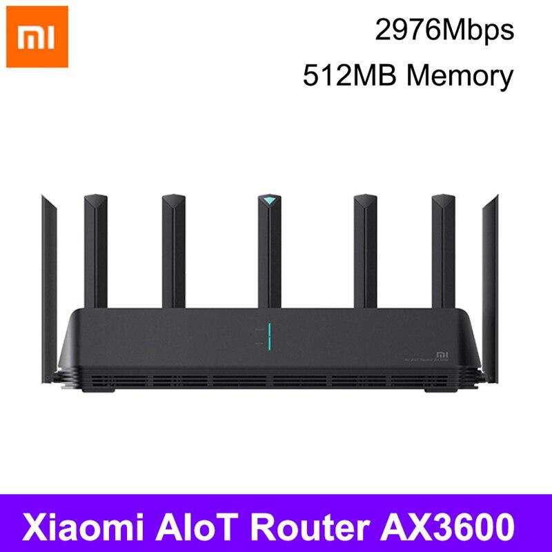 Xiaomi AX3600 маршрутизатор Wifi 5G WPA3 600Mb двухдиапазонный 2976Mbs гигабитный маршрутизатор Qualcomm A53 усилитель внешнего сигнала 4g usb модем