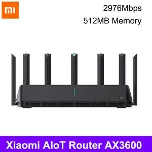 Xiaomi AX3600 Router Wifi 5G WPA3 600Mb Dual-Band 2976Mbs Gigabit Router Qualcomm A53 External Signal Amplifier 4g usb modem