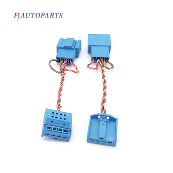 For BMW X1 X3 X5 F10 F01 F18 F30 F20 E60 E90 E70 Speaker Tweeter Splitter Cable Adapter Stereo Connector Wiring Harness image